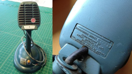 General Electric 97U29 Microphone