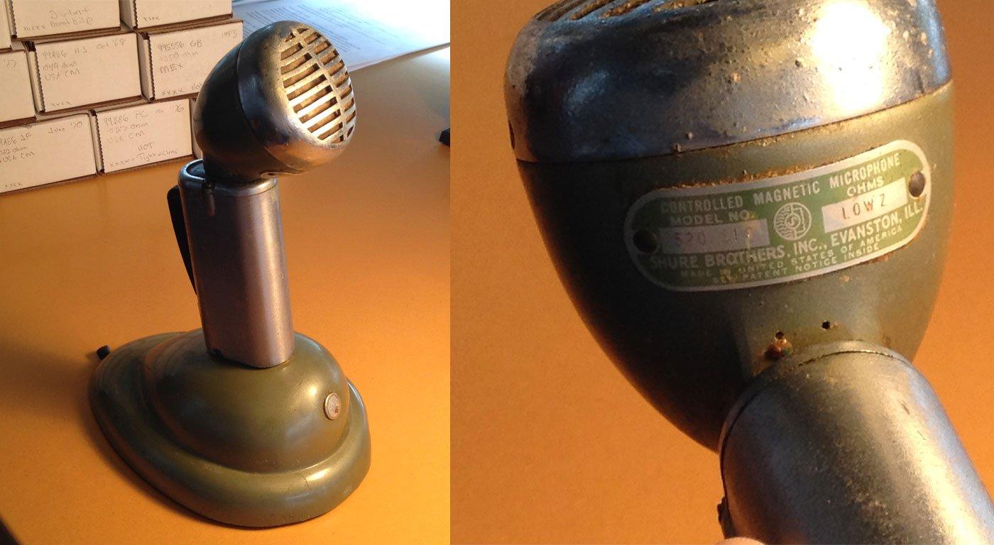 Shure 520 SL SLB Microphone