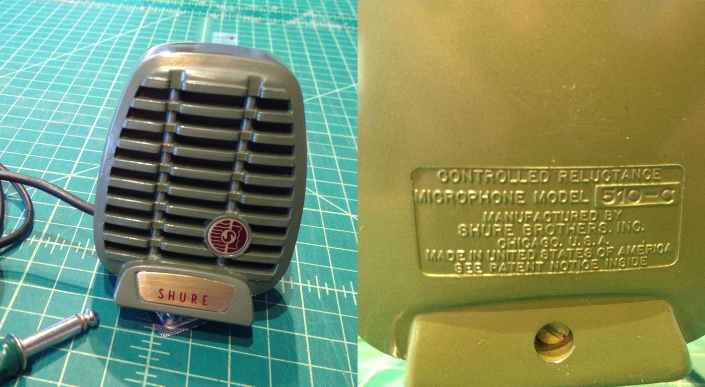 Shure Model 510C Microphone