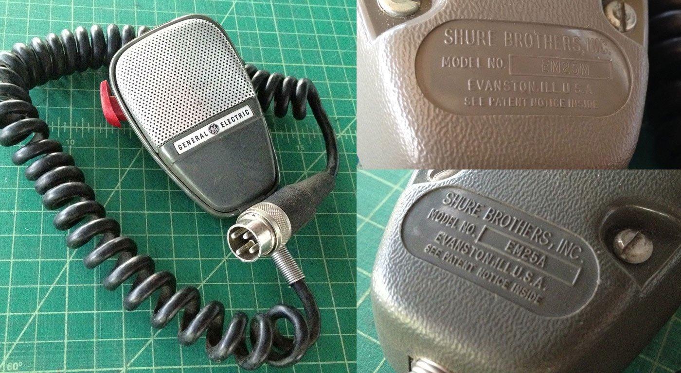 General Electric EM25 Microphone