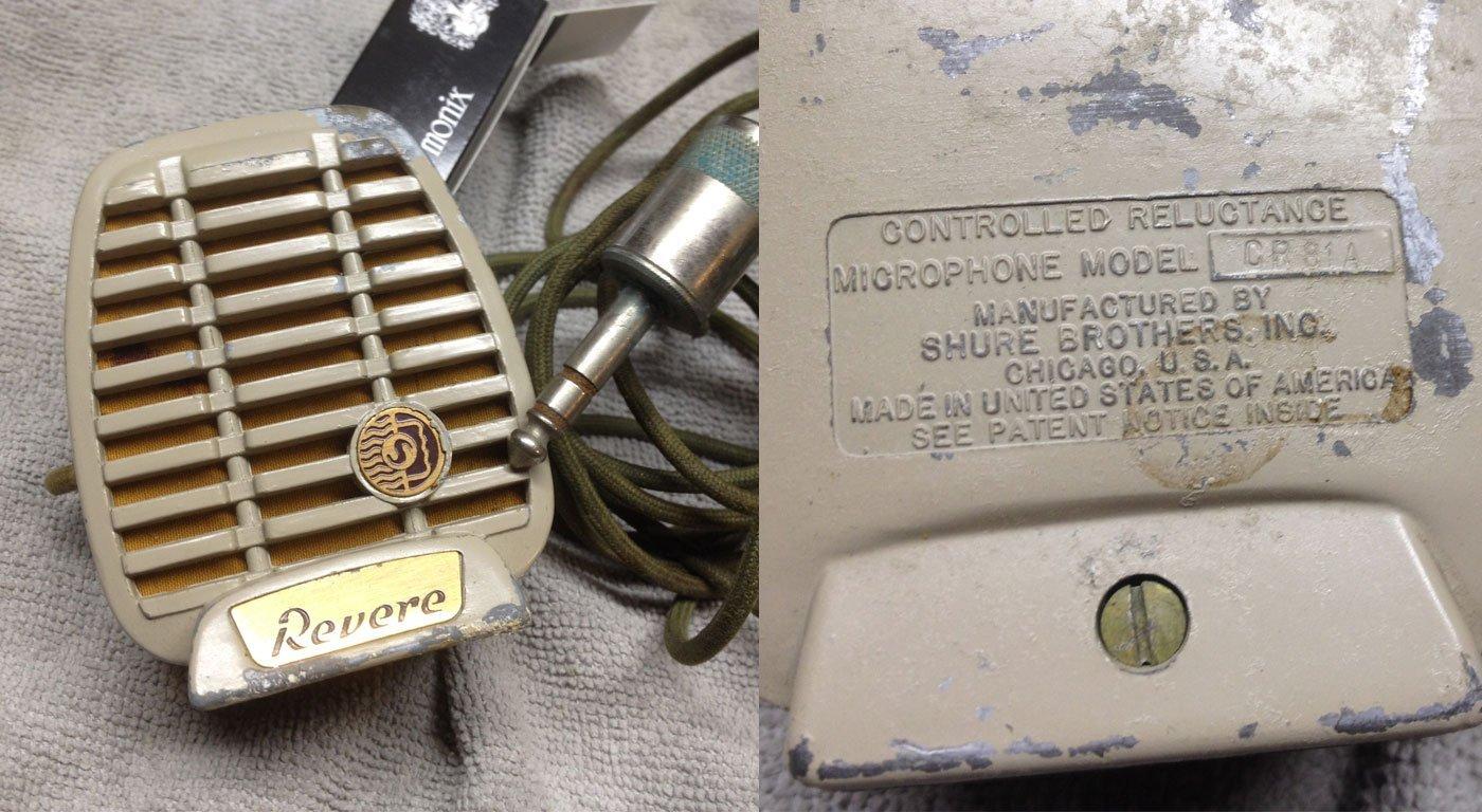 Revere CR81A Microphone