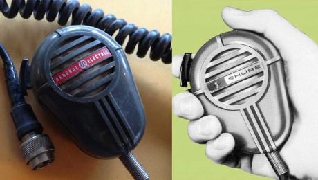 Shure 404C, GE 404, Series Microphone
