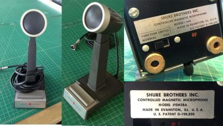 Shure Model 444 Microphone