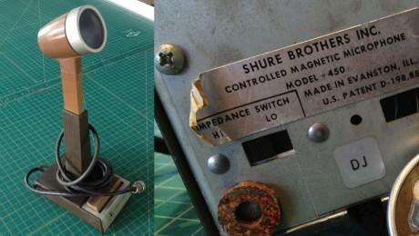 Shure Model 450 Microphone